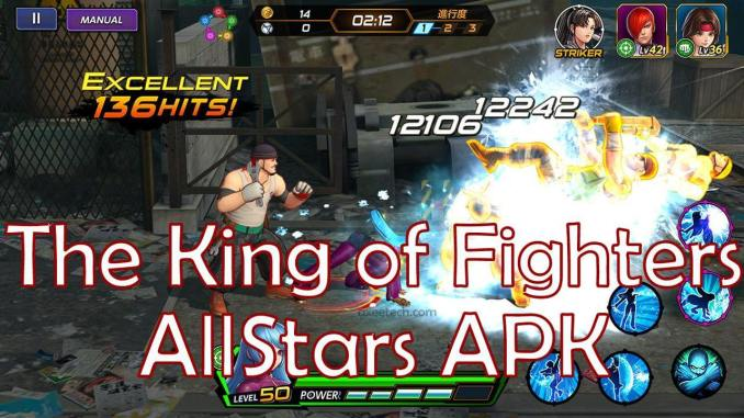 The King OF Fighters AllStars Apk OBB Data for android