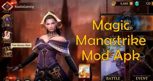 Magic Manastrike Mod Apk hack 2020