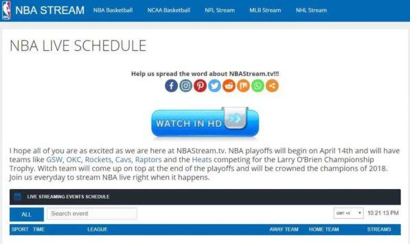 NBAstreamsdiscordserver