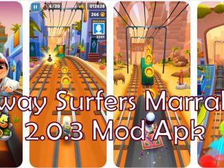Subway Surfers Marrakesh 2.0.3 Mod apk