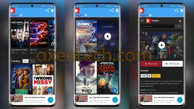 TinyZone.TV Apk App for Android