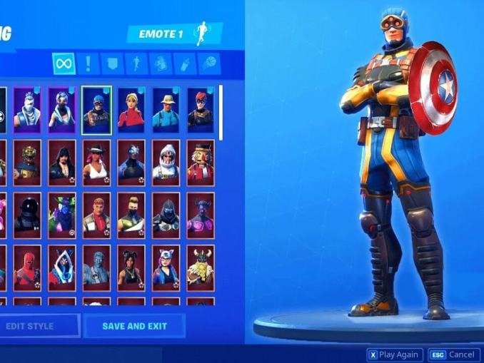 Fortnite Captain America Apk mod