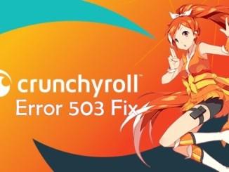 Crunchyroll Error Fix