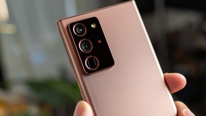 Samsung Galaxy Note 20 Ultra Camera Apps