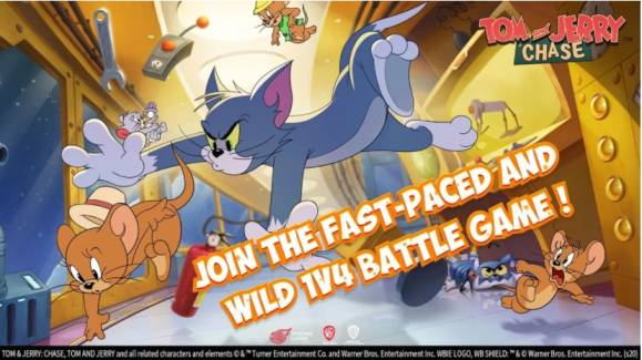 Tom and Jerry Chase apk Mod hack for android