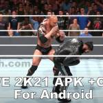 WWE 2K21 apk Android screenshots 3