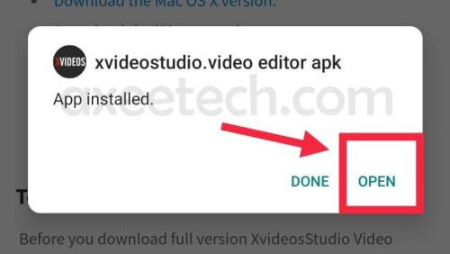 xvideostudio video editor apk open now