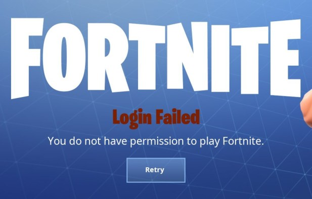 Fix Do Not Have Permission To Play Fortnite