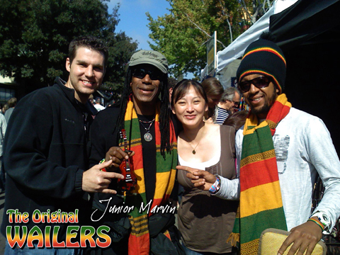 JUNIOR MARVIN / THE ORIGINAL WAILERS