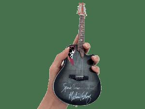Melissa Etheridge Signature Adamas Ovation Miniature Guitar Replica by AXE HEAVEN®