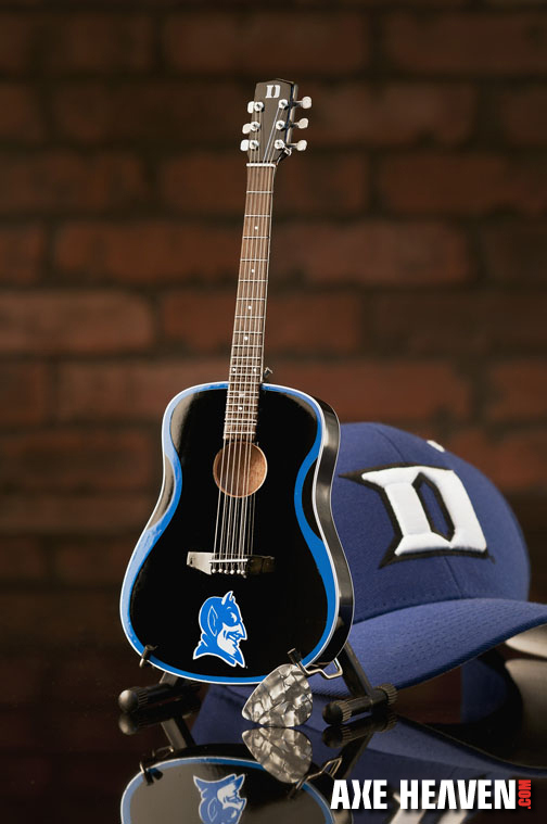 Duke University Blue Devils Miniature Guitar Replica Collectible