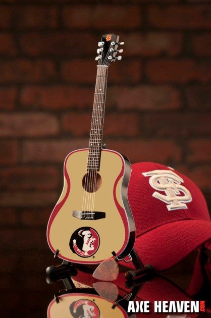 Florida State University Seminoles Miniature Guitar Replica Collectible