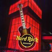 Hard Rock Rocksino Sign in Northfield Park, near Cleveland