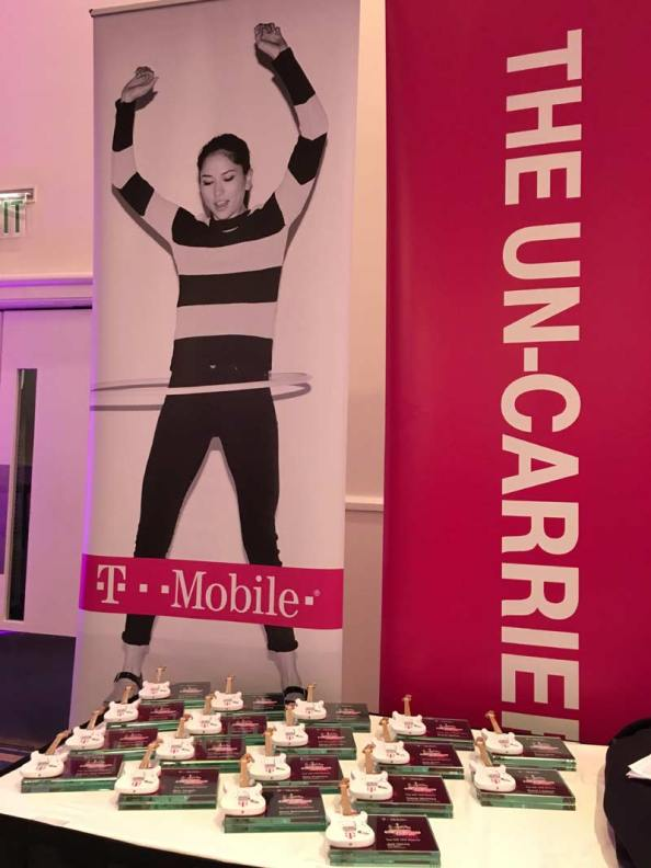 T-Mobile Rockstar Awards on Display