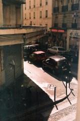 View from Le Village Hostel, Paris