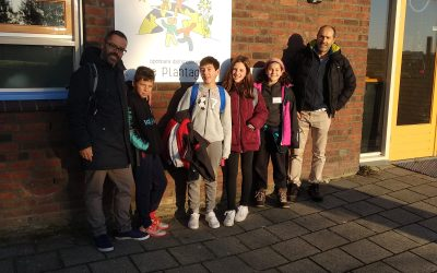 First visit to Netherlands of CEIP El Peralejo (Alpedrete-Spain) in the AXEP Erasmus + project (27/10/2019-2/11/2019)