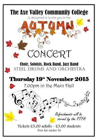 Autumn concert poster1