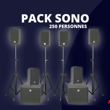 Location pack sono Tourcoing