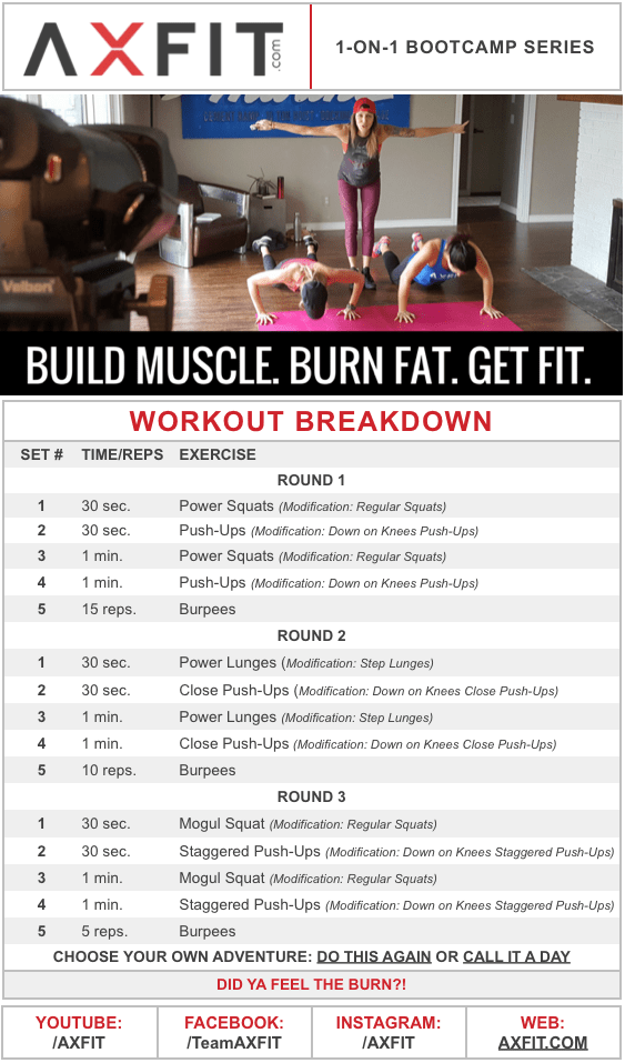 15 Minute Muscle Building Fat Burning Hiit Home Workout Intense