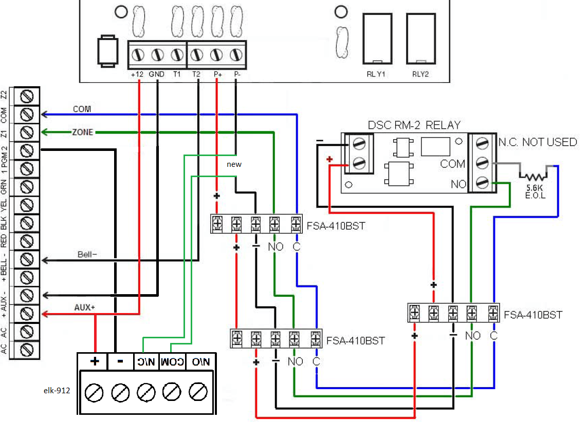 Research On The Dsc 1832 Series Alarm System The Blog Of Nick DSL Wiring-Diagram  Dsc 1832 Wiring Diagram