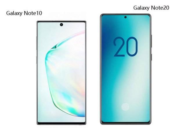 螢幕再變大!Galaxy Note20 實機渲染圖曝光!對比 Note10 螢幕再加大!