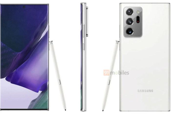 超絕美的隱藏色!Galaxy Note20 Ultra 將會推出純白版本?
