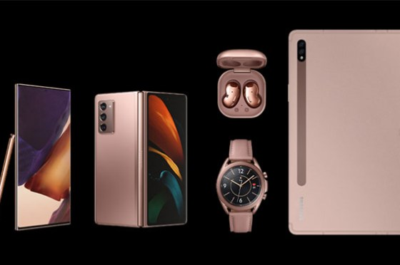 Galaxy Note20 系列正式發表,Galaxy Z Fold 2、Galaxy Buds Live 與 Galaxy Watch 3 與 Galaxy Tab S7 系列同步亮相!