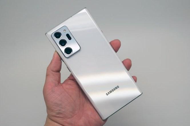 三星 Galaxy Note20 Ultra 台灣市售版「星幻白(Mystic White)」開箱!
