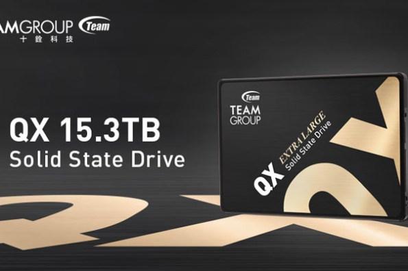 容量遠超主流硬碟!十銓科技推出業界第一大容量 15.3TB 消費級 2.5 吋 SATA 固態硬碟 QX 系列!