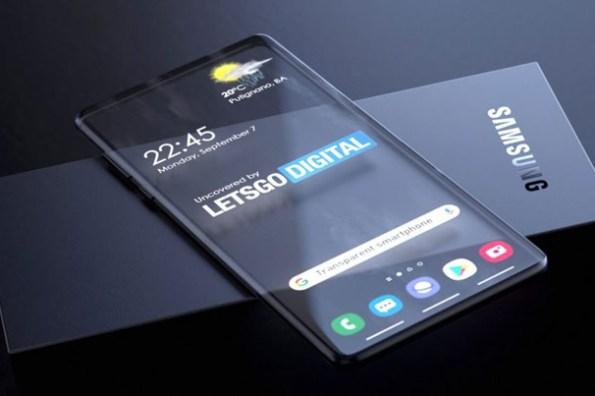 手機也有透明螢幕了?三星專利曝光「全透視」Galaxy 手機的未來樣貌!