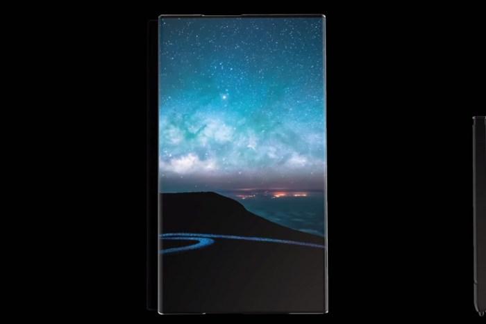 三星 Galaxy Note 的未來,其實是「捲軸式螢幕」!沒有摺疊線更適合 S Pen?