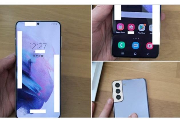 三星 Galaxy S21+ 實機外觀外流~全平面螢幕搭配窄邊框看起來很香?