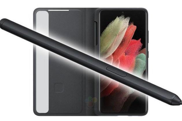 三星 Galaxy S21 Ultra 的 S Pen 曝光了,大概就和 Tab S 系列差不多!