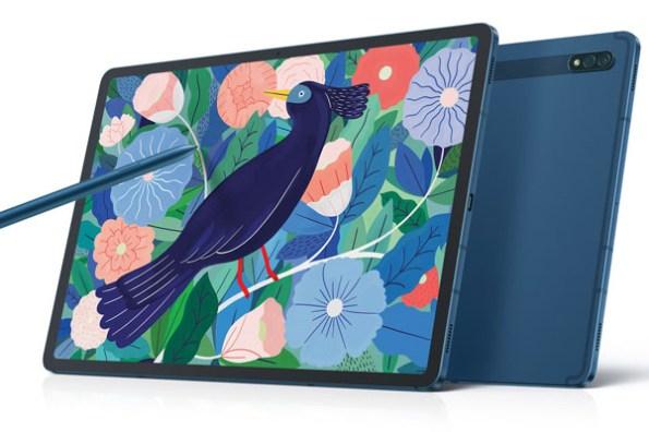 星同學來了!三星 Galaxy Tab S7 | S7+ 「星霧藍」2/26 全台上市,三星學生、教職員專屬教育優惠方案 7 折同步優惠中!