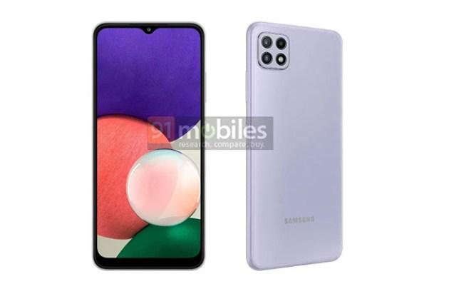 三星 Galaxy A22 5G 曝光!搶低價 5G 手機市場的新武器,將會是三星目前最便宜的 5G 手機?