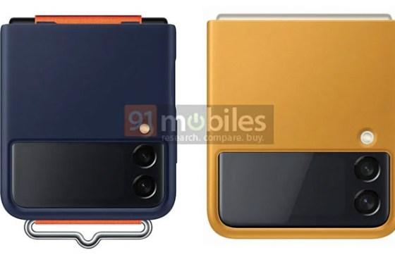 Galaxy Z Flip 3 走年輕時尚風!官方保護殼一系列搶先曝光令人眼睛一亮!