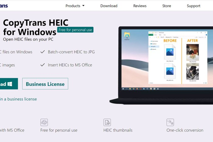 iPhone 13 的 HEIC 格式照片在 Windows 10 裡看不了、開不了?試試 CopyTrans HEIC for Windows 插件來解決!