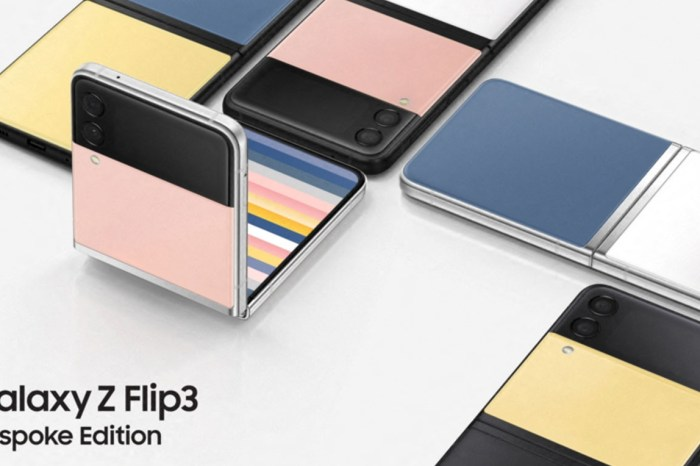 三星推出 Galaxy Z Flip 3 外觀定製版(Bespoke Edition),要什麼顏色自己配、共計多達 49 種組合!