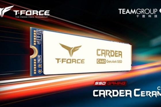 航太陶瓷技術加持!十銓科技推出 T-FORCE CARDEA Ceramic C440 固態硬碟,兼具高顏值與強效散熱!