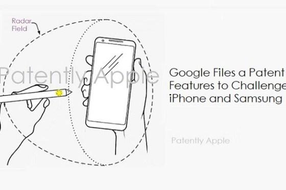 Google 新專利透過「雷達感應」讓 Pixel 也能使用觸控筆、3D 手勢,將成為三星 Galaxy Note 系列與 Apple Pencil 的最大威脅?