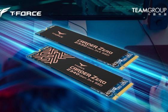 石墨烯技術帶來「零的領域」!十銓科技推出 T-FORCE CARDEA ZERO Z330 及 Z340 M.2 固態硬碟!