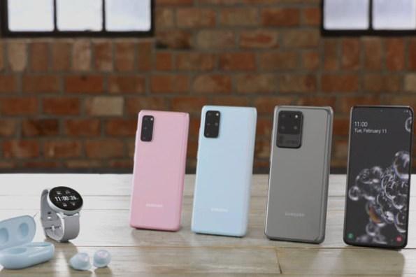 三星 Galaxy S20 系列完整規格比較,附加前代旗艦 Note10+、S10+ 規格同場比較!