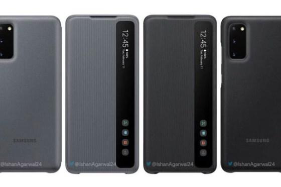 Galaxy S20 系列官方配件曝光,先來看看官方保護殼有哪些可選吧!