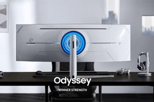 三星於 2020 年 CES 國際消費電子展推出新 Odyssey 電競顯示器 G9 與 G7,1000R 曲度創造更強大沉浸感與卓越效能!