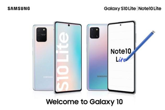 三星正式推出 Galaxy S10 Lite 與 Note10 Lite!延續旗艦系統高端相機、強大生產力!