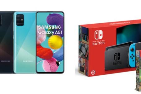遠傳開賣三星 Galaxy A30s、A51 與 A70!送原廠快充行動電源,週週抽 Nintendo Switch + 健身環大冒險!