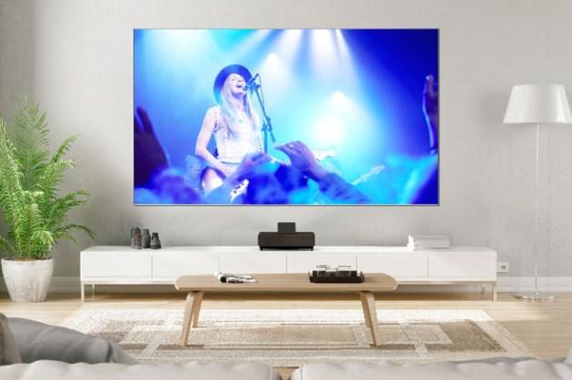 Epson 發表智慧 4K 雷射大電視,兼具 Android TV 平台與 120 吋超大投影尺寸!