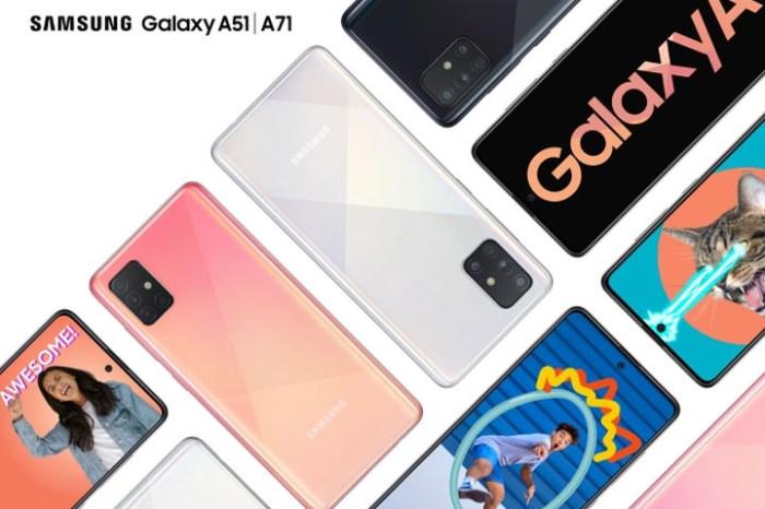 三星宣佈中階新機 Galaxy A71 與 A51:全新 L 型 4 鏡頭設計,會是 Galaxy S11 的「外型預覽版」?
