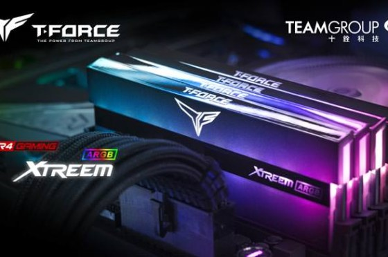 十銓科技 T-FORCE 推出業界首創鏡面設計 XTREEM ARGB 電競記憶體