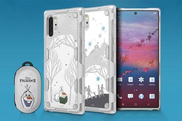 搭上《冰雪奇緣2》風潮,三星 Galaxy Friends 推出 Note10+、Galaxy Buds 主題配件!